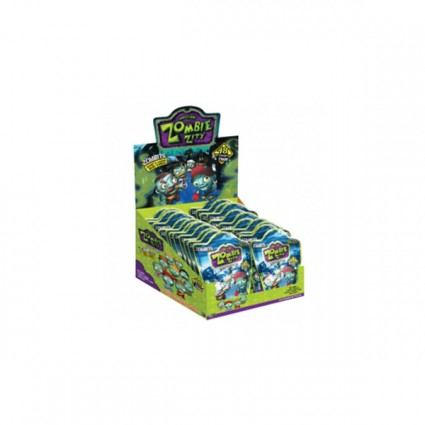 Zombie Zity Bouncers (Micro Figures In Foil Pack)